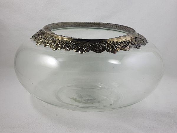 Glasschale/Windlicht